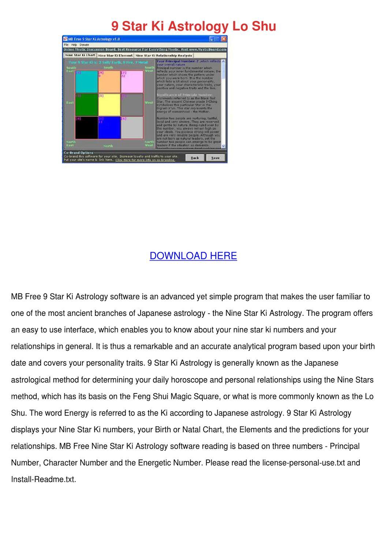 9 Star Ki Astrology Lo Shu by Adelaide Guercio - issuu