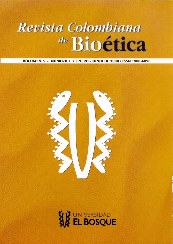 Revista Colombiana de Bioética by Universidad El Bosque - issuu