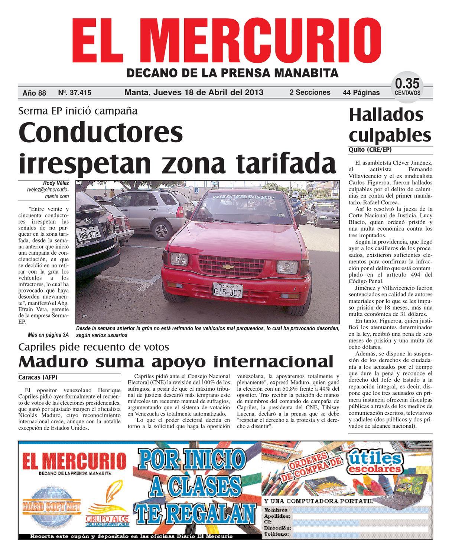 18abril2013 by Diario El mercurio - issuu