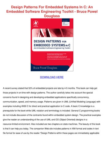 Design Patterns For Embedded Systems In C Pdf