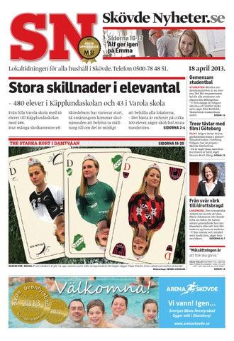 a2a24c02a70 Skövde Nyheter.se Sidorna 16-17 Alf ger igen på Emma. Lokaltidningen för ...