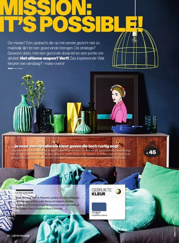Flexa Let\'s Colour Magazine by AkzoNobel Decorative Coatings BV - issuu