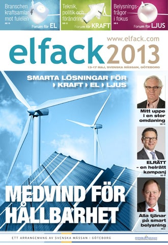 Elfack 2013 Mässtidning by Break a Story Communication AB - issuu 3088a61eba2f3