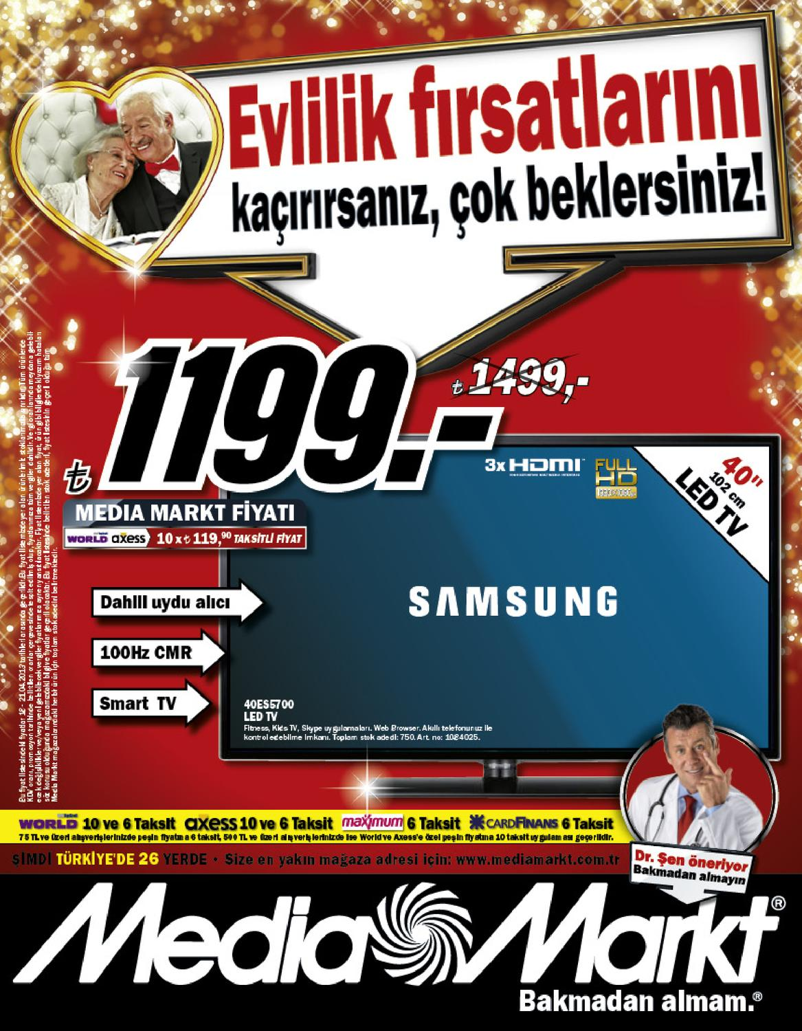 media markt ulusal 18 21 nisan2013 by kataloguindirimler. Black Bedroom Furniture Sets. Home Design Ideas