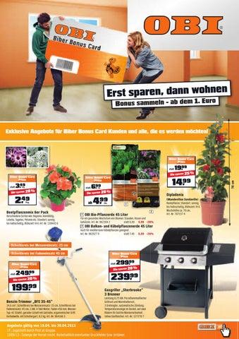 obi prospekt by aktionsfinder gmbh issuu. Black Bedroom Furniture Sets. Home Design Ideas