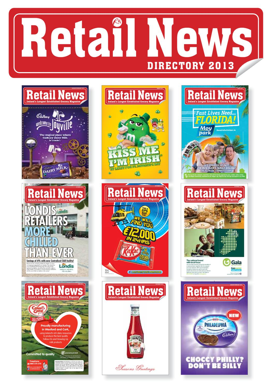 Retail News DIrectory 2013 by Retail News - issuu