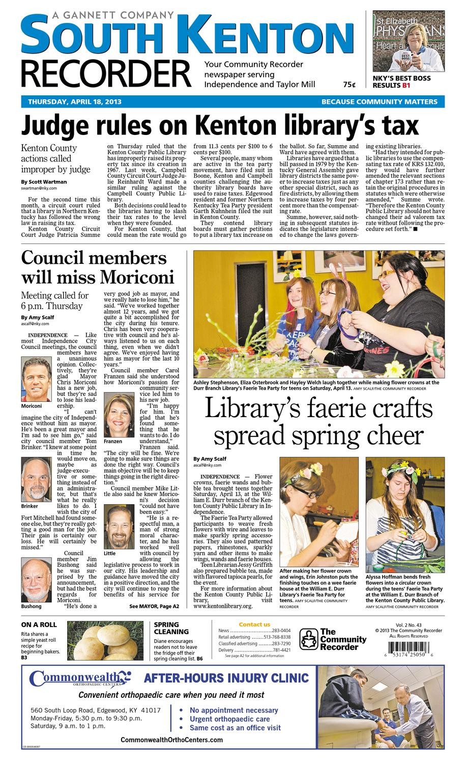 south-kenton-recorder-041813 by Enquirer Media - issuu