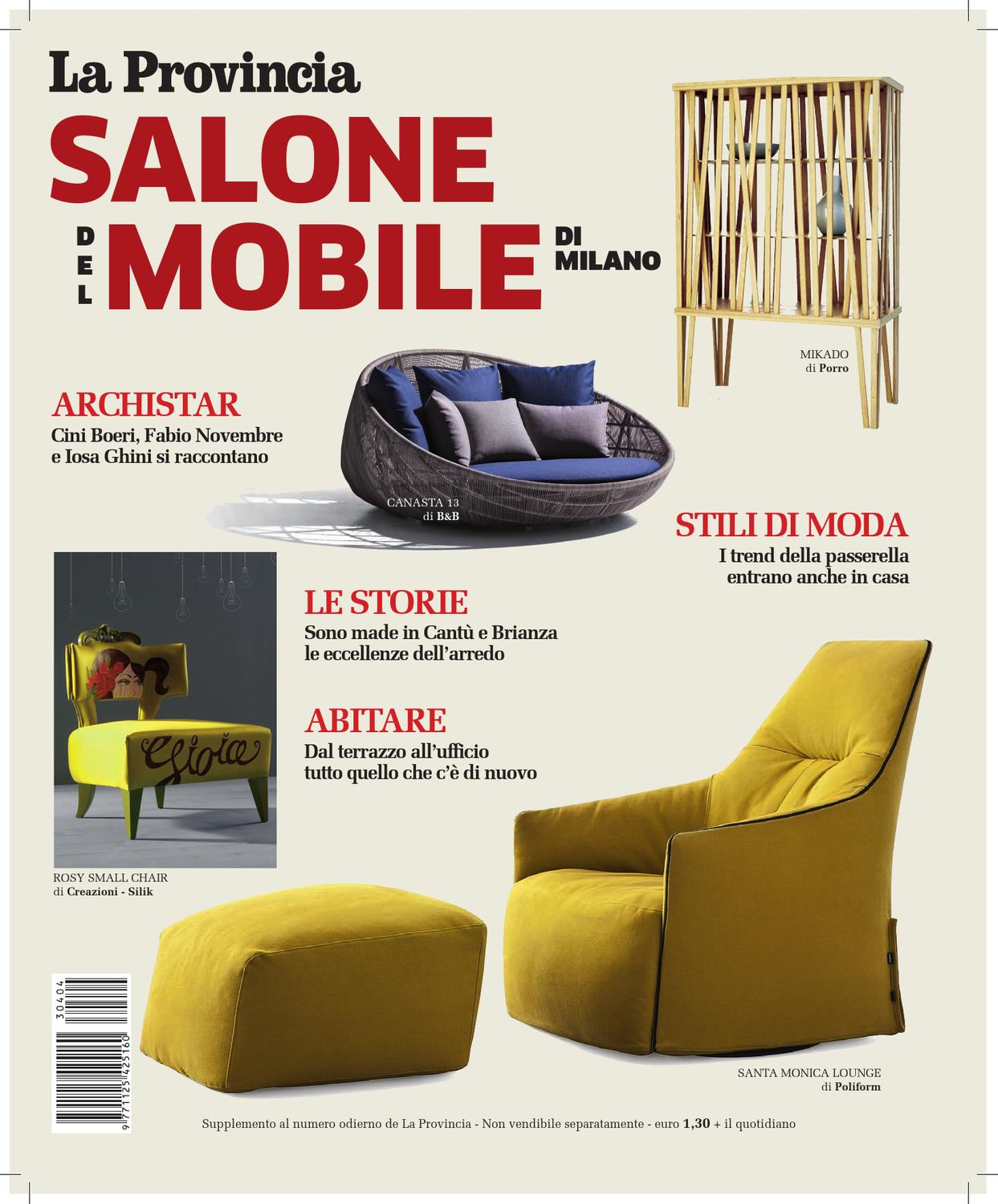 Letti Ottone Riva Cantu special issue on salone del mobile di milano by antonella