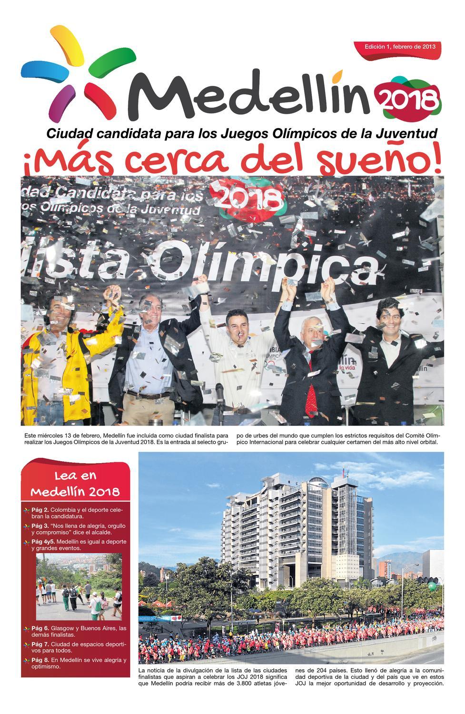 Periodico Medellin 2018 Edicion De Febrero By Medellin 2018 Yog