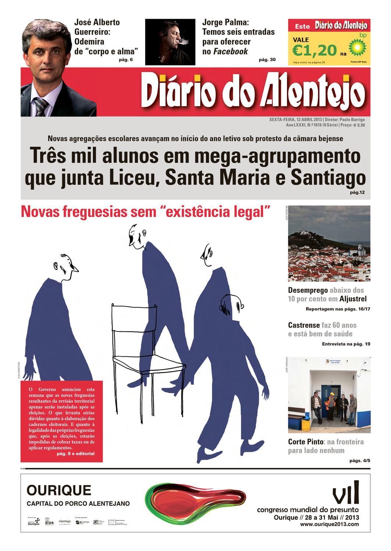 Ediçao N. 1616 by Diário do Alentejo - issuu 32ceda256c61