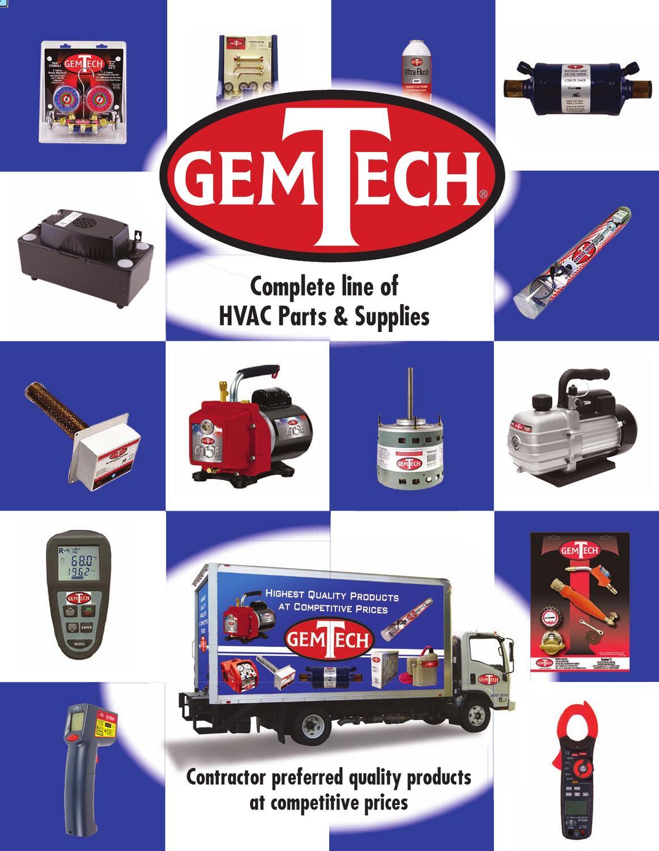 Gemtech Hvac Parts Catalog By Chuck Jacobs