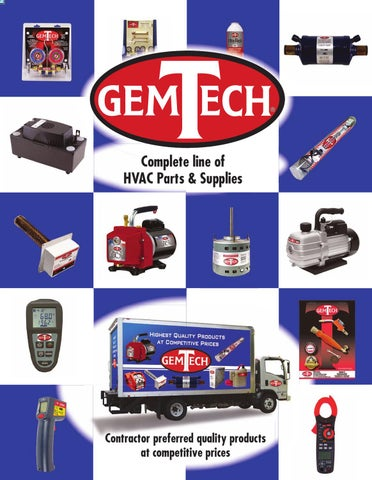 GemTech HVAC Parts Catalog by Chuck Jacobs - issuu