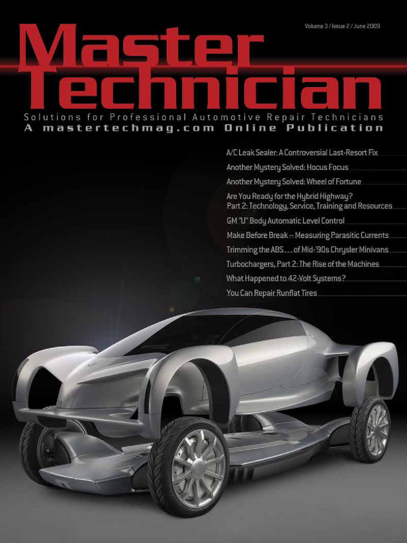 June 2009 Mastertechnician By Automotive Data Media Issuu Ford 7 3 Powerstroke Wastegate Control Solenoid On 2002 Explorer