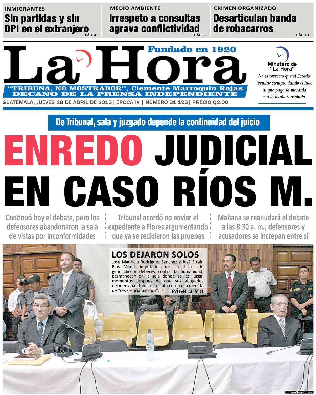 Diario La Hora 18-04-2013 by La Hora - issuu