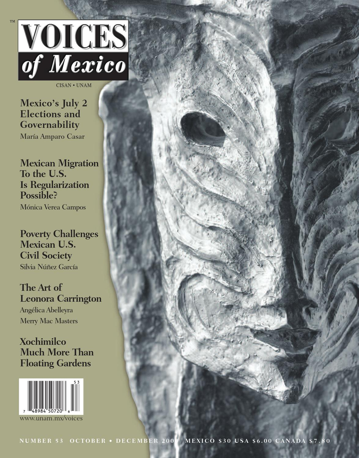 df6354a9f20 Voices of Mexico issue 53 by cisan unam - issuu