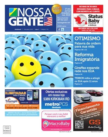 Nossa Gente 73 by Nossa Gente - issuu bfd8263984f