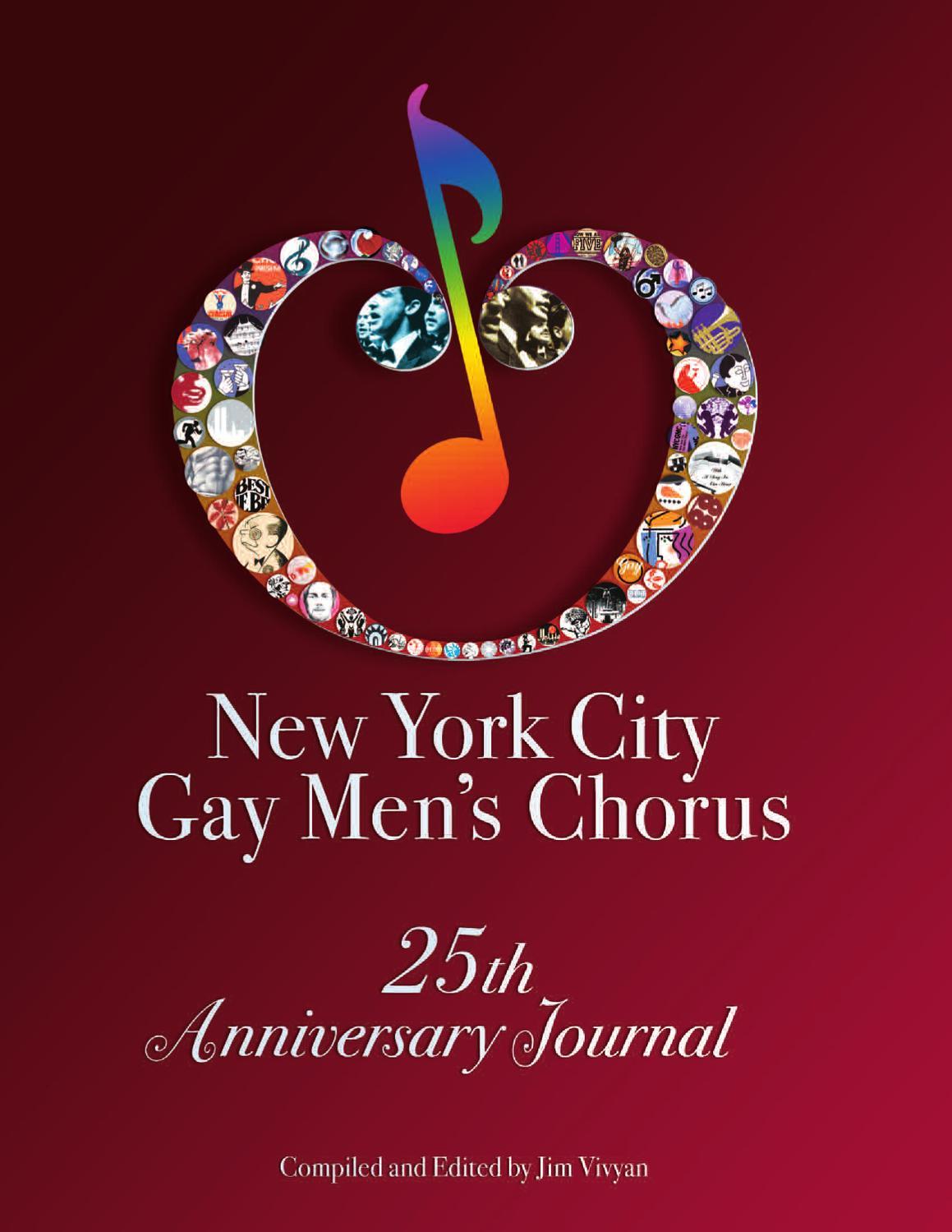 New York City Gay Men's Chorus 25th Anniversary Journal by Jim Vivyan -  issuu