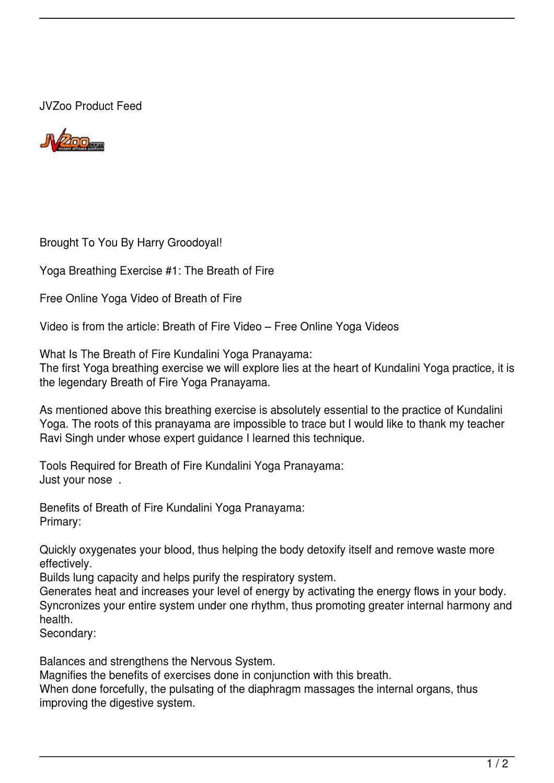 Breath of Fire Kundalini Yoga Pranayama! by harry groodoyal - issuu