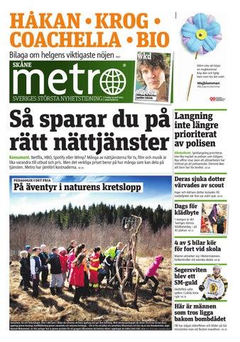 big sale ac16b 69e0e 20130419 se malmo by Metro Sweden - issuu