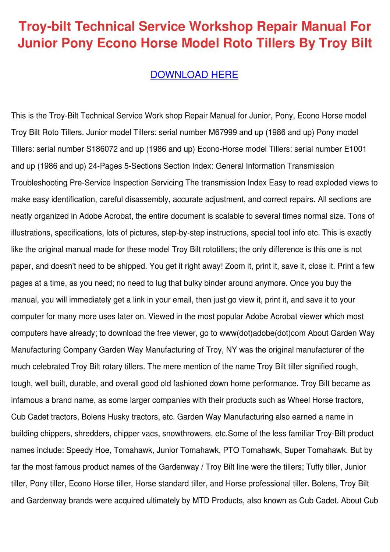 Troy Bilt Horse Manual Download Ebook Hayabusa Wiring Diagram Moreover Fuse Box 2000 Bmw R1150gs Array Technical Service Workshop Repair M By Jene Shettle Issuu Rh