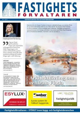 Fastighetsförvaltaren nr-1 2013 by Hexanova Media Group AB - issuu 1d30a384a04bf