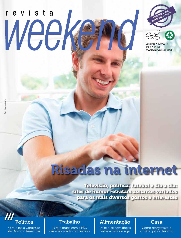 Revista Weekend - Edição 176 by Carleto Editorial - issuu b5ceeb3895