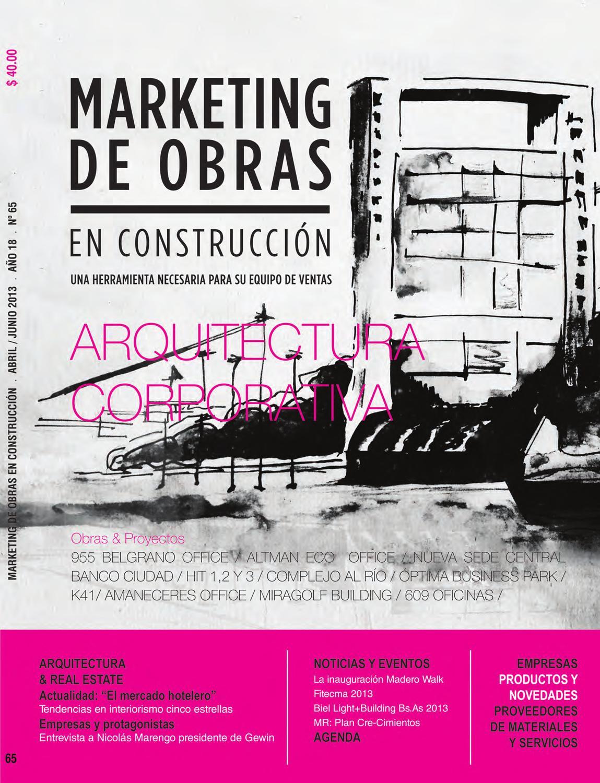 Marketing de Obras Ed.65 by Marketing de Obras en Construcción - issuu