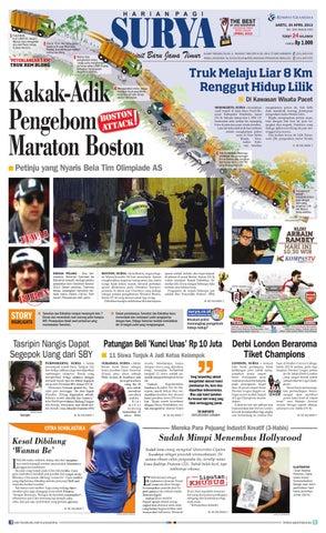 E-paper Surya Edisi 20 April 2013 by Harian SURYA - issuu 750b14f8ad