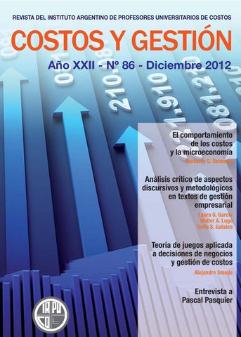 revista costos y gestión 86 by iapuco issuu
