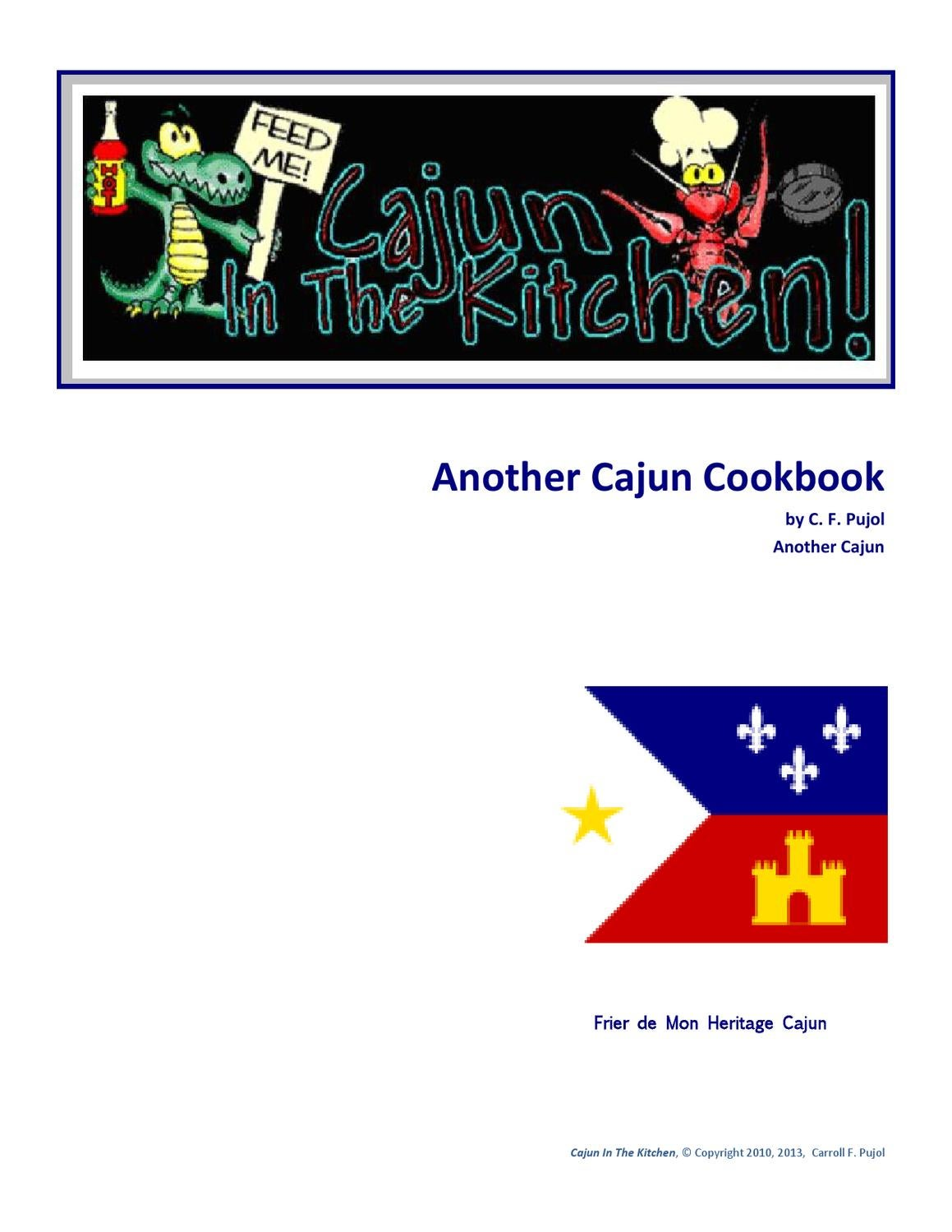 Cajun In The Kitchen By Carroll Pujol Issuu Silverqueen Almond 68 Gr