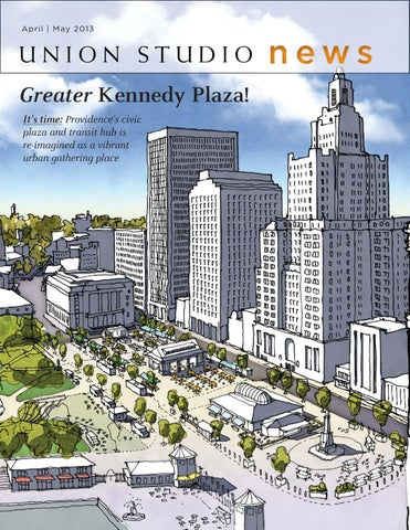 Union Studio News Greater Kennedy Plaza By Union Studio