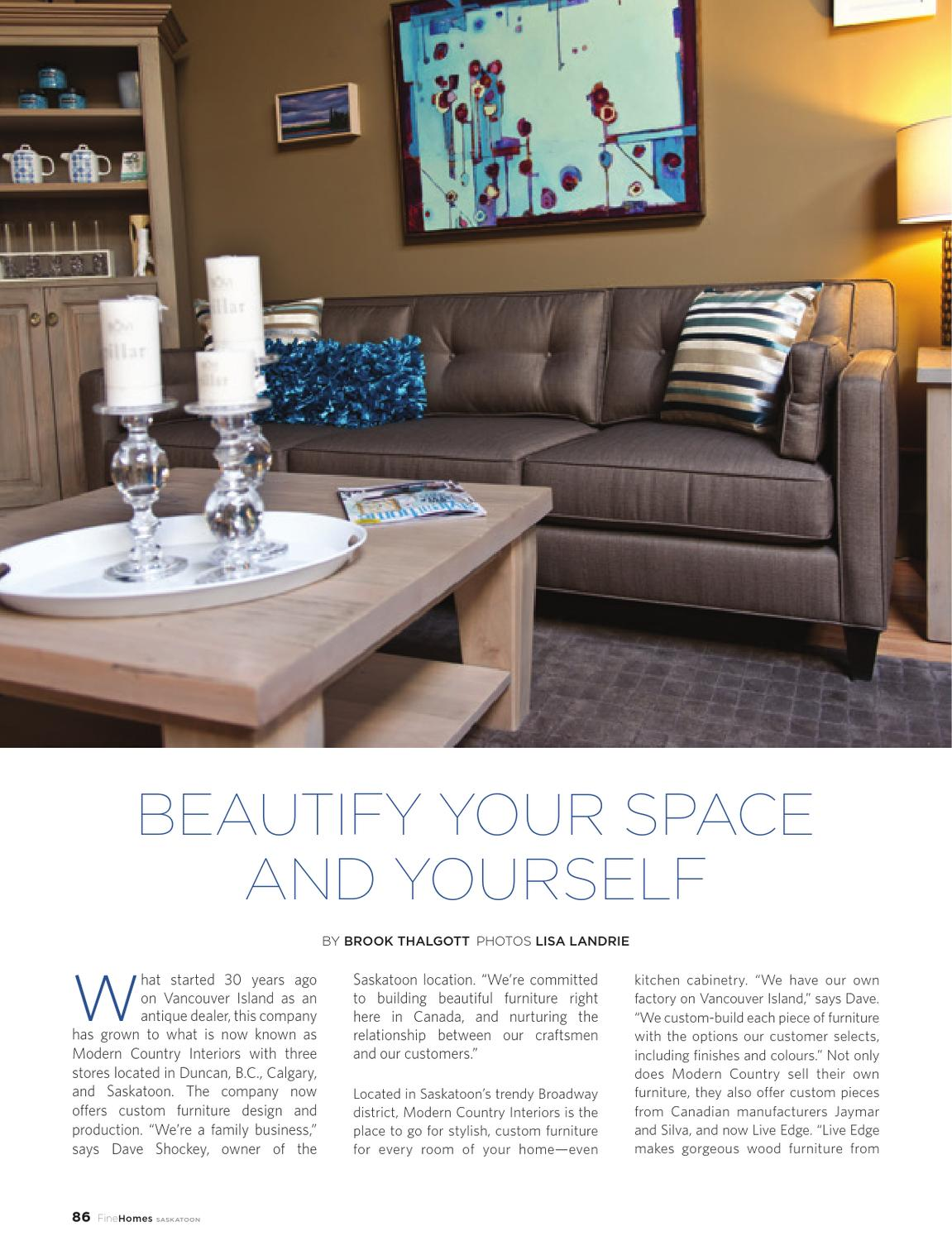 finehomes saskatoon spring 2013 by fine lifestyles issuu