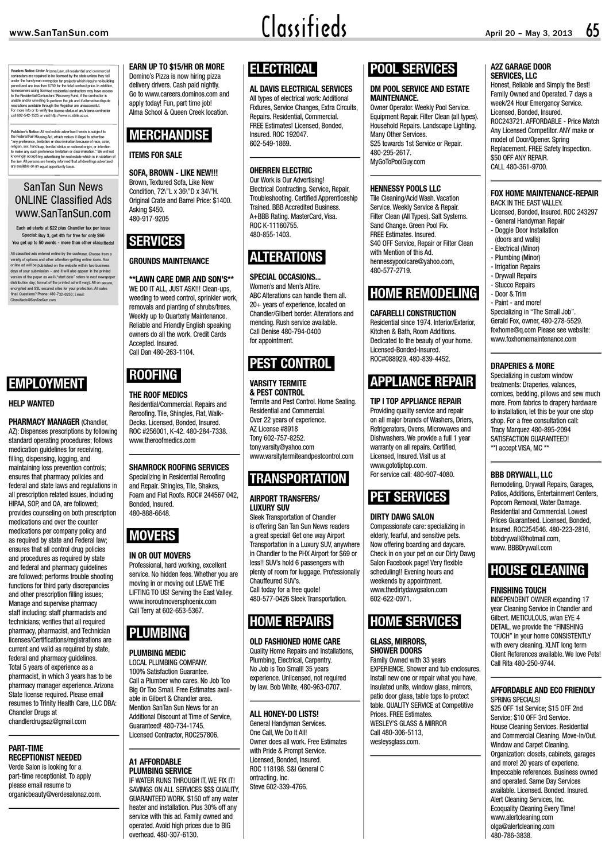 Santan Sun News 3-20-13 Issue by Santan Sun News - issuu