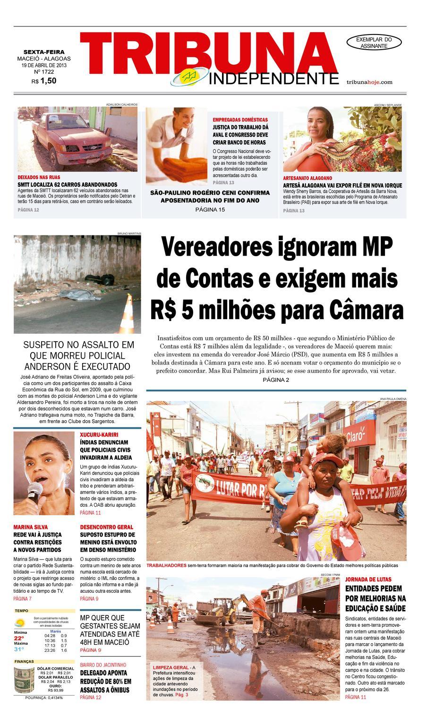 cff7c49d7 Edição número 1722 - 19 de abril de 2013 by Tribuna Hoje - issuu