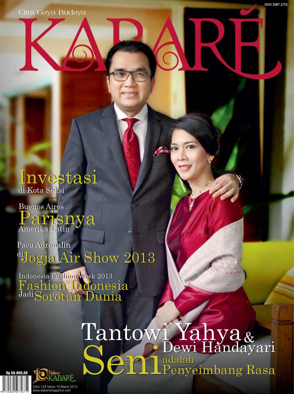 Kabare Magazine Edisi Maret 2013 By Issuu Produk Ukm Bumn Atasan Tenun Pria Lengan Pendek Hijau B