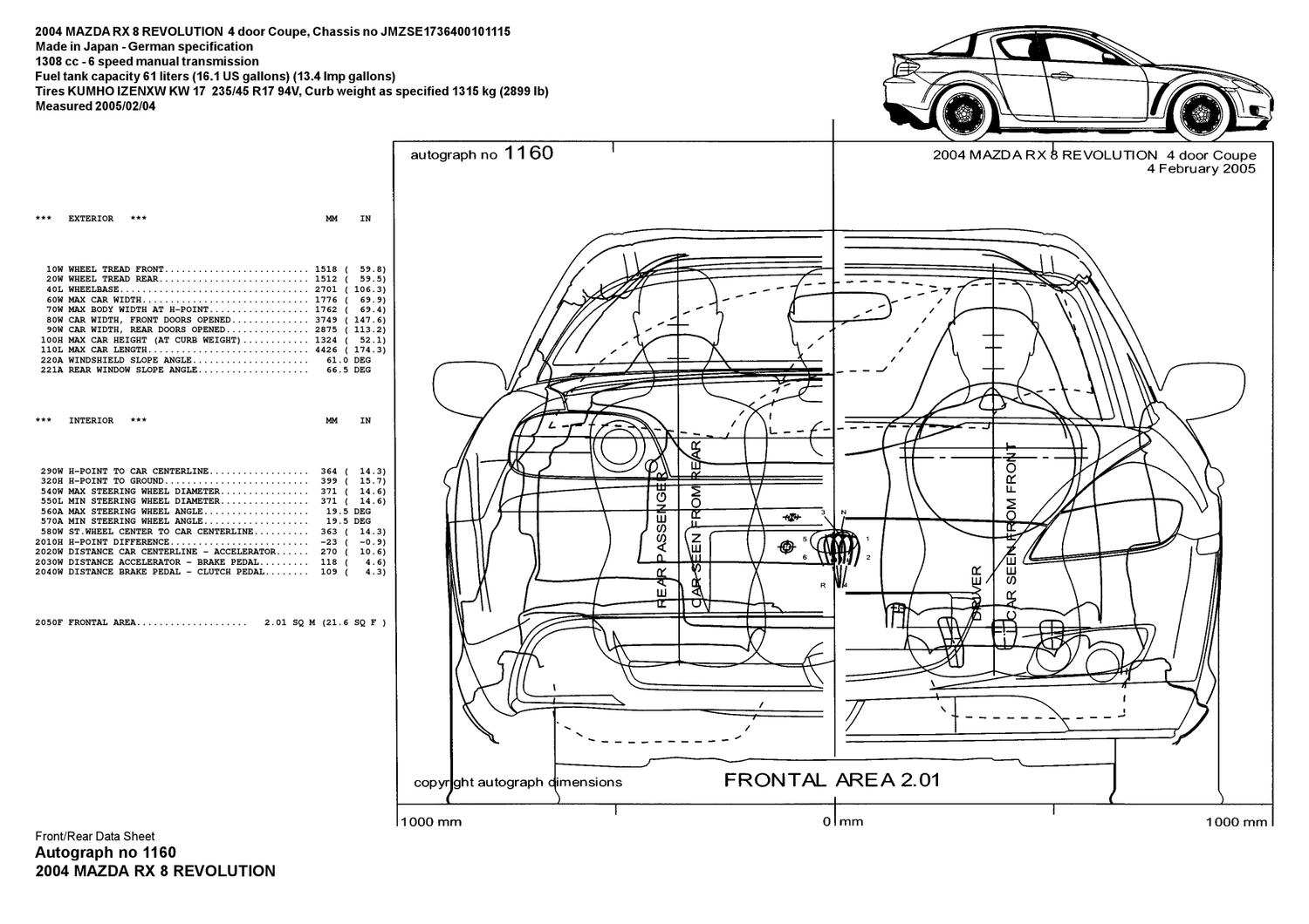 rx8 data sheet by rx8 antiforum