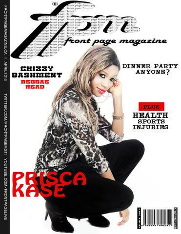 Front Page Magazine April 2013 Issue by Front Page Magazine - issuu
