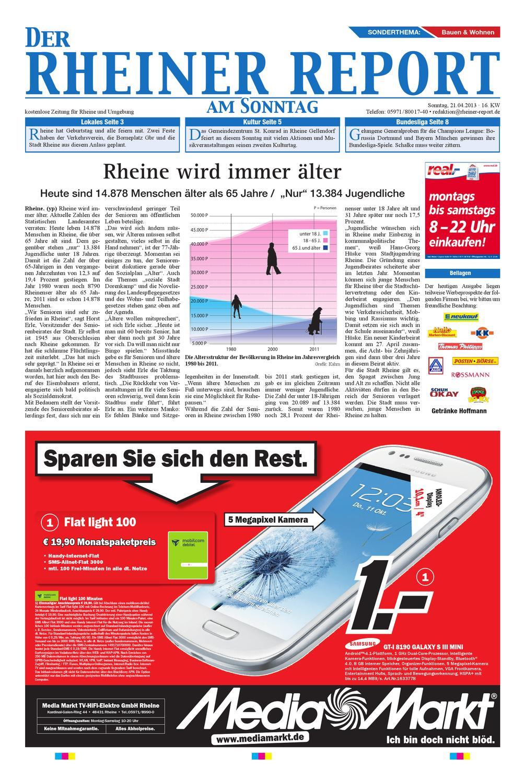 KW16-2013 by Rheiner Report GmbH - issuu