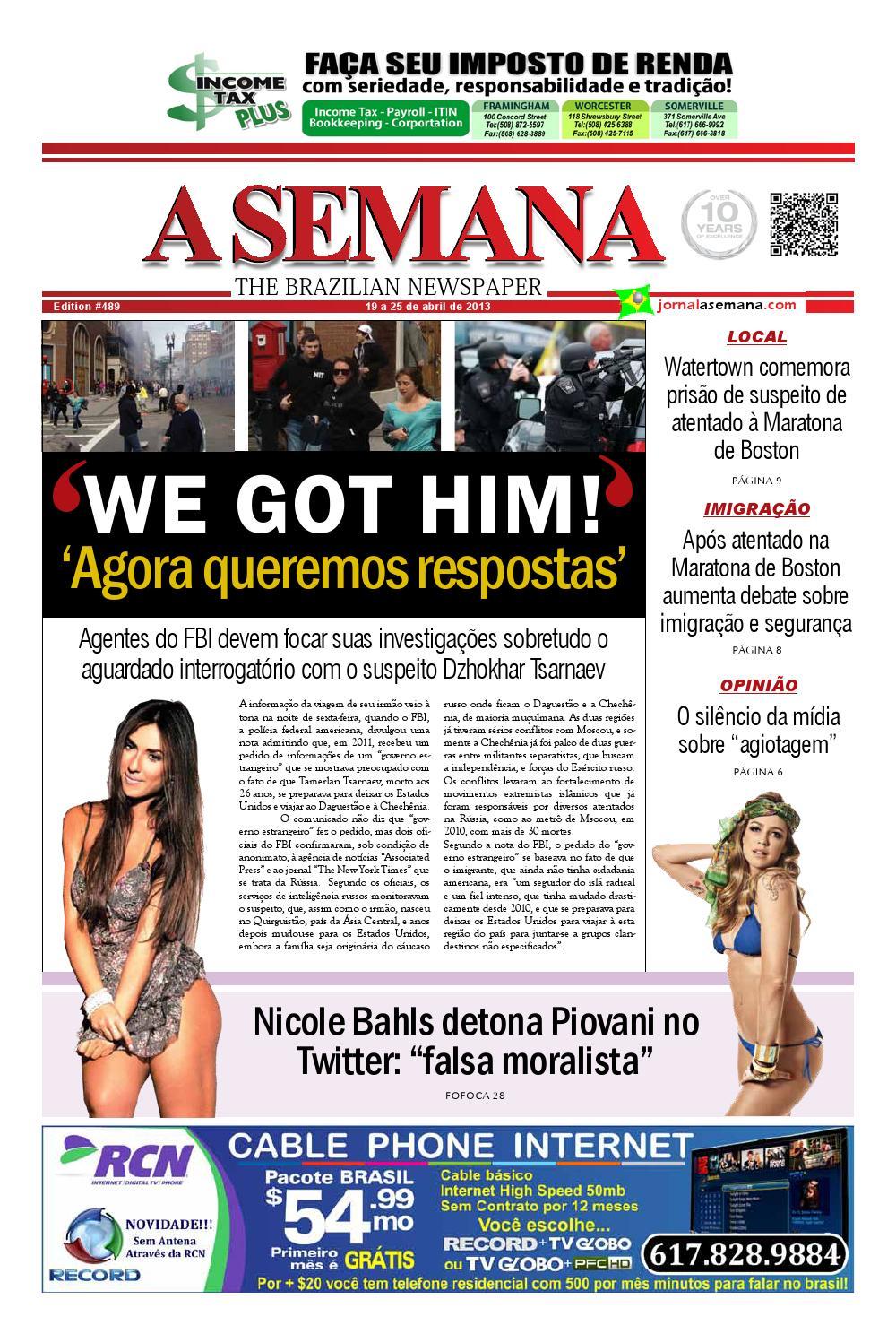c6ebf0bb34c3a A SEMANA - The Brazilian Newspaper by JORNAL A SEMANA - issuu