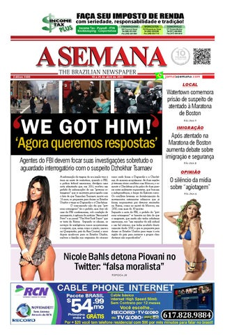 c6ebf0bb34c3a A SEMANA - The Brazilian Newspaper by JORNAL A SEMANA - issuu