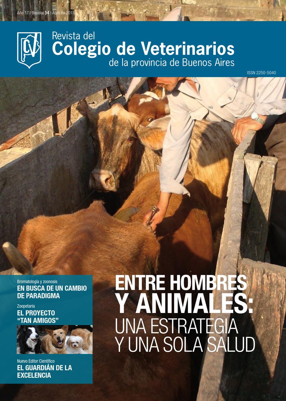 Revista 54. Colegio de Veterinarios de la provincia de Buenos Aires ...