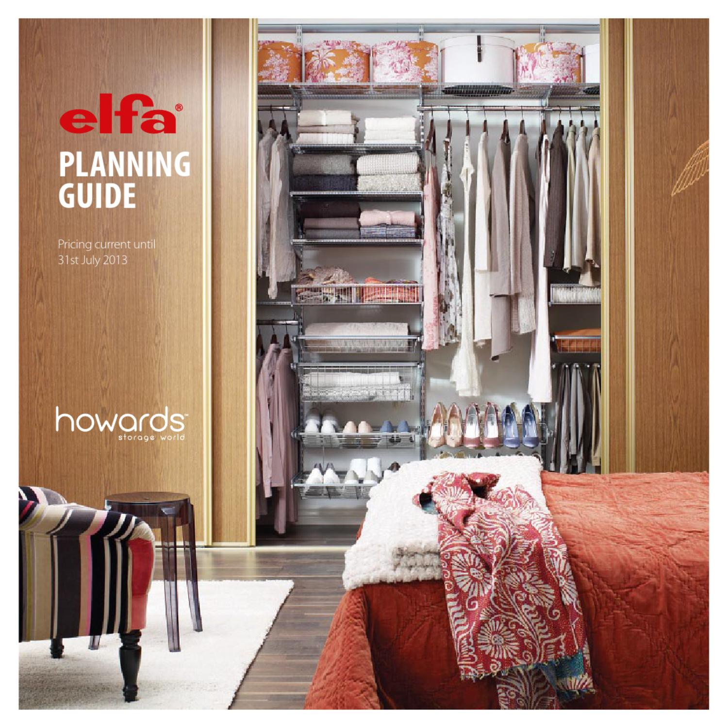 Hsw Elfa Planning Guide 2013 By Howards Storage World Aust