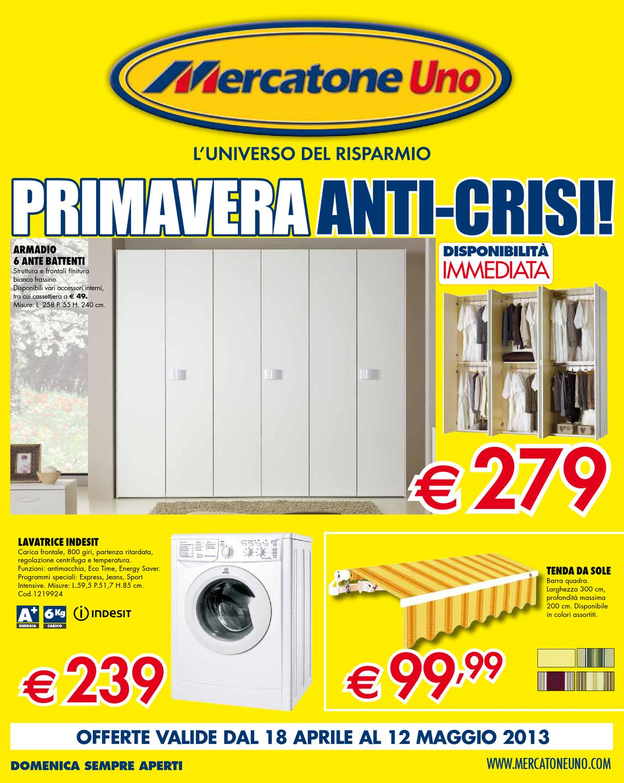 Armadio 4 Ante Mercatone Uno.Mercatone Uno Volantino 18 Aprile 12 Maggio 2013 By