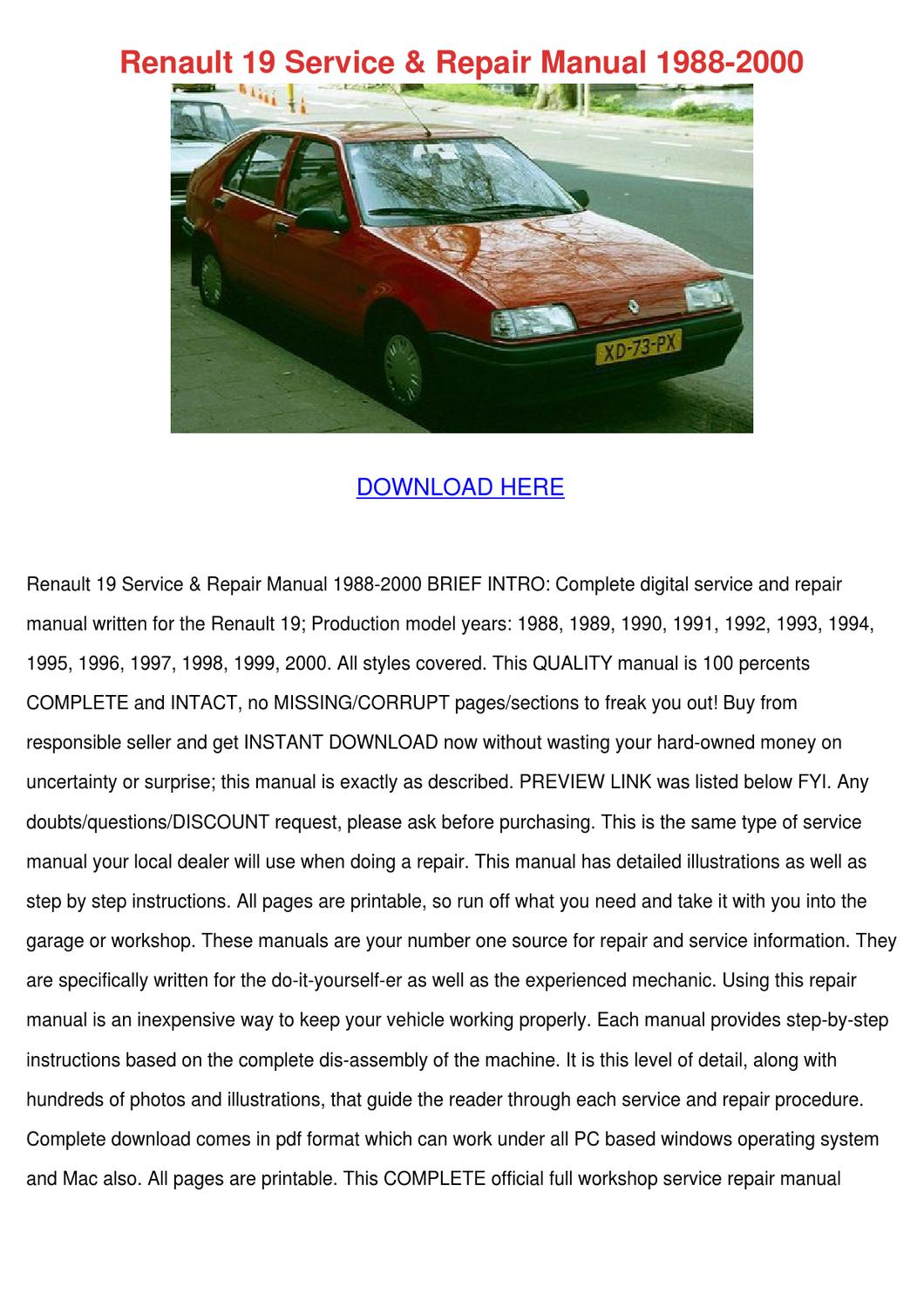 renault 19 service repair manual 1988 2000 by patricia Update Minecraft 1.7.11 Minecraft 1.7.11 and the Guardians