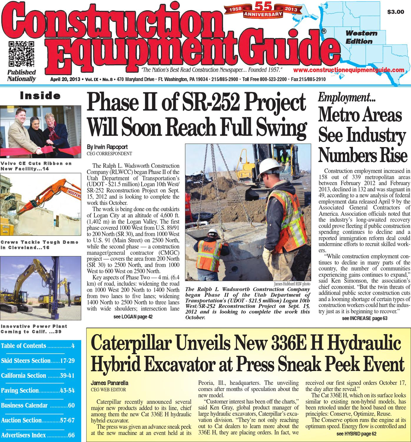 West 82013 By Construction Equipment Guide Issuu Wiring Harness Board Tooling Http Wwwbostonteccom Industrial