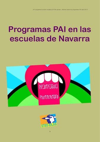 Dossier sobre la imposición de los PAI VERSIÓN CASTELLANO by ...