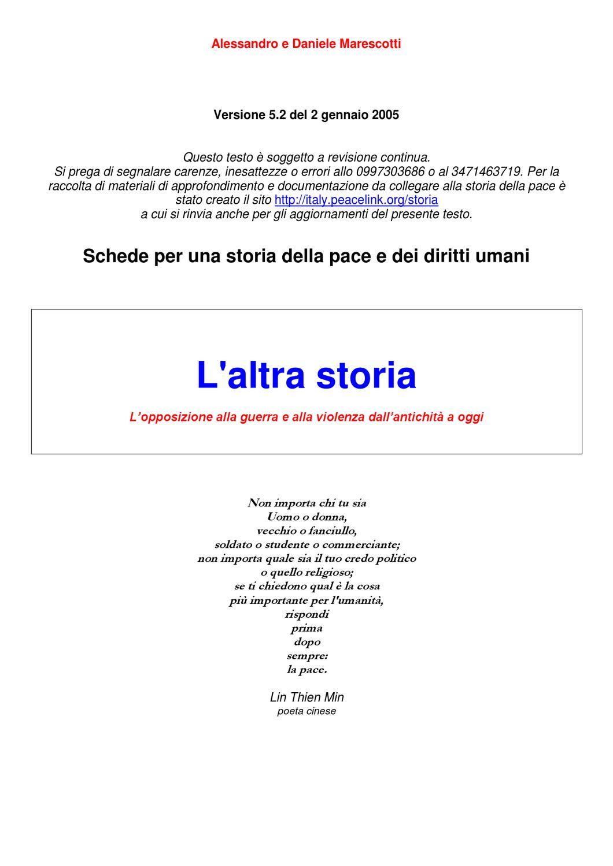 Storia della Pace by Associazione InformaGiovani - issuu 91d25ee112b2