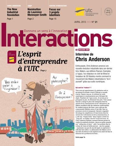 2a460328830f Interactions 21   L esprit d entreprendre à l UTC by Université Utc ...