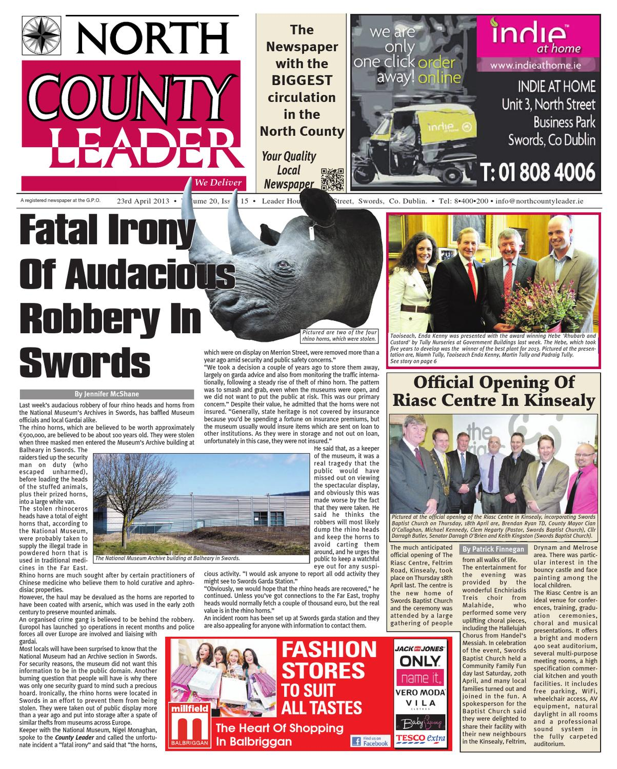 North County Leader 23 April 2013 by sean fitzmaurice - issuu 30593f9ec060f