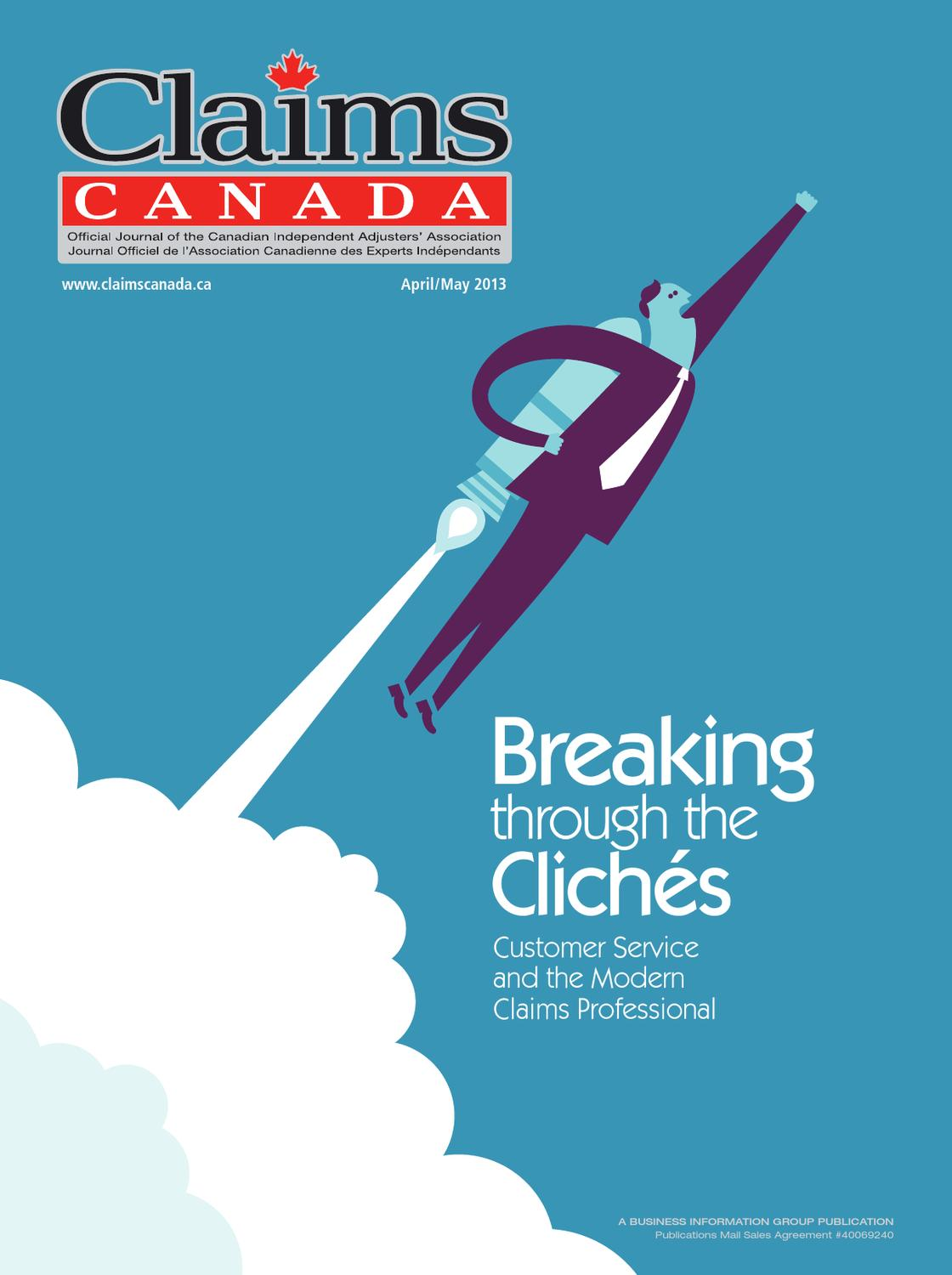 Claims Canada April May 2013 by Annex-Newcom LP - issuu